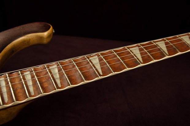 Modified Rickenbacker 4001 Piccolo Sitar Bass Scalloped Frets