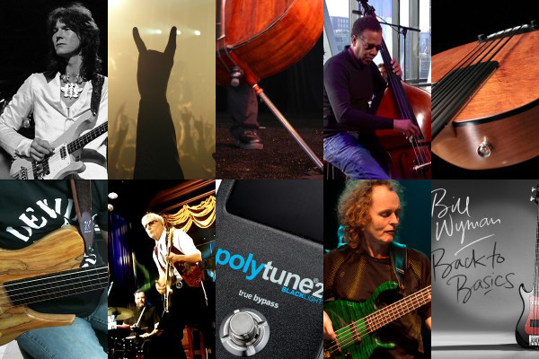 Weekly Top 10: RIP Chris Squire, Bill Wyman's New Album, Mark Egan Podcast, Angled Endpins, Top Bass Videos & More