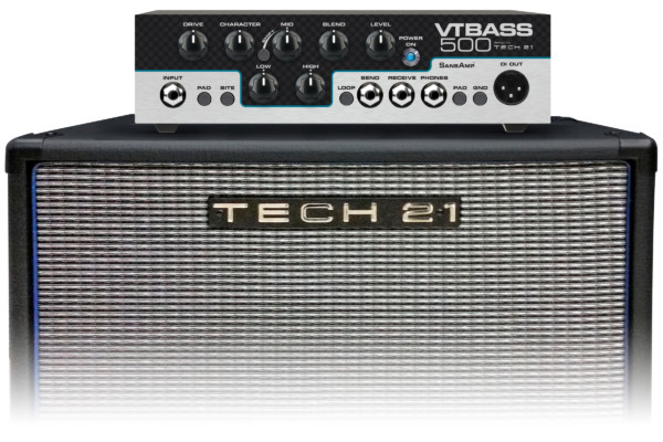 Tech 21 Introduces VT Bass 500 Bass Amp Head
