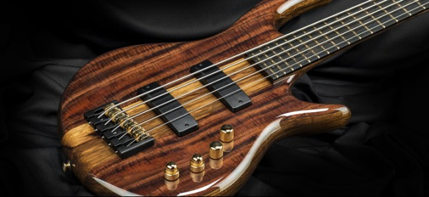 Kiesel Carvin Guitars Icon 2.0 5-string Bass Body Closeup