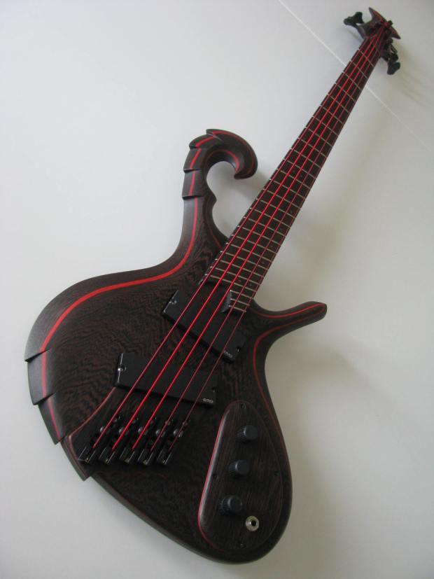 Matteo Marziali The Bad Bass Full Angle