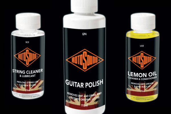 Rotosound Launches New Instrument Care Products