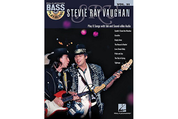 Stevie Ray Vaughan Bass Play-Along Book Released