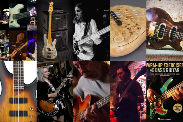 Weekly Top 10: Best Bass Videos, Freeing Up Your Walking Bass Lines, New Gear, Old School Gear and More