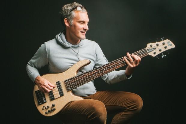 Tony Grey with Signature Monarch Bass