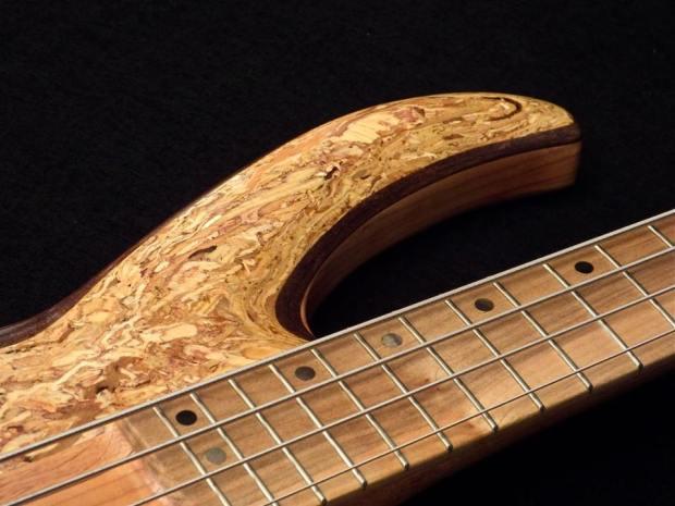 Lea Bass Guitars Dumpster Bass Upper Horn