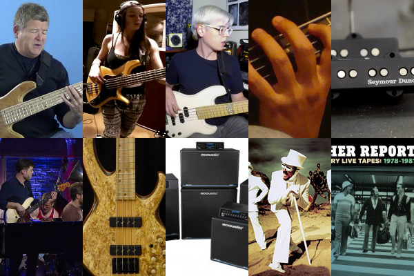 Weekly Top 10: New Bass Lesson, New Material from Weather Report's Jaco Years, New Gear, Top Bass Videos and More