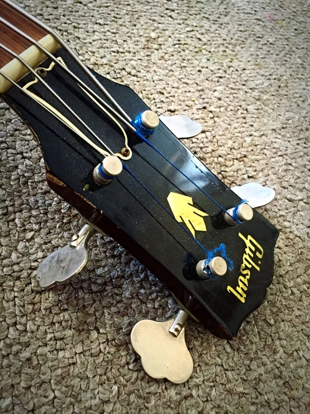 1959 Gibson EB-2 Bass headstock