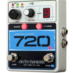 Electro-Harmonix Introduces 720 Stereo Looper Pedal