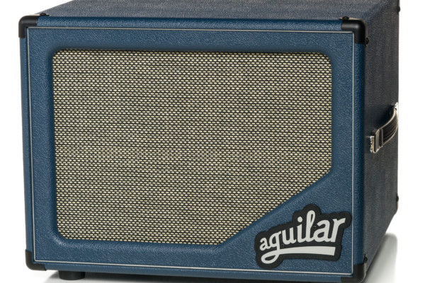 Aguilar Amplification Announces Limited Edition SL 112 in Blue Bossa