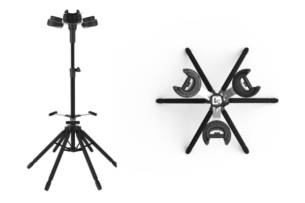 D&A Guitar Gear Unveil The Hydra Triple Guitar Stand