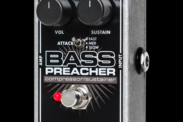 Electro-Harmonix Introduces the Bass Preacher