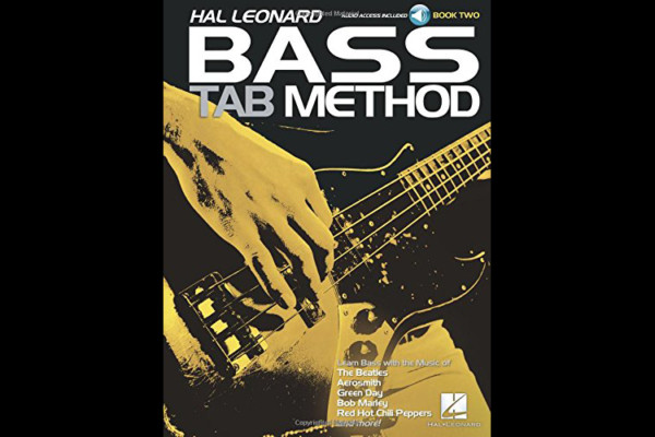 More Than 60 Songs/Riffs Included in Bass Tab Method Book