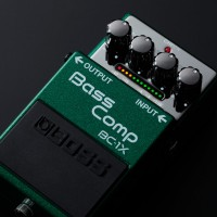 Boss Introduces BC-1X Bass Comp Pedal