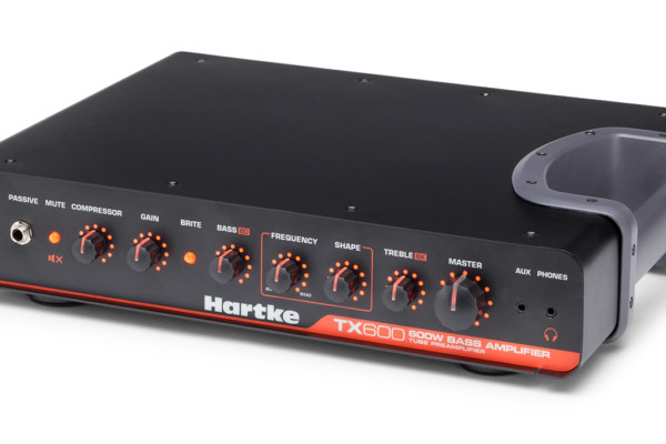 Hartke Introduces TX600 Lightweight Bass Amp
