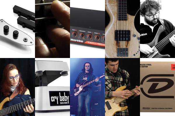 Weekly Top 10: New Bass Gear, Teaching (and Learning) Chords, One Finger Per Fret Lesson, Top Bass Videos and More