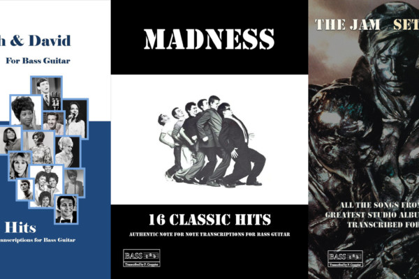 Transcriptions of Bacharach/David, Madness and The Jam Available