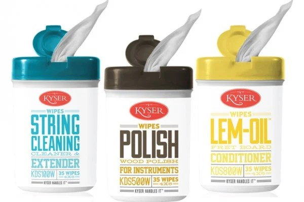 Kyser Introduces Instrument Cleaning Wipes