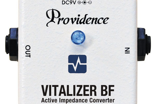 Providence Introduces Vitalizer BF VZF-1 Bass Pedal