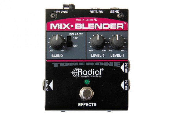 Radial Engineering Adds Mix-Blender to Tonebone Series