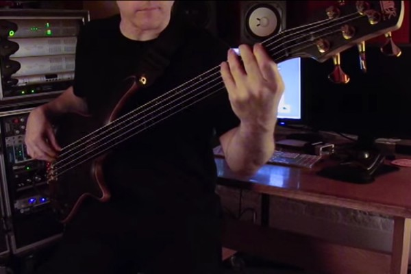 "Sean Malone: Cynic's ""Veil of Maya"" Bass Playthrough"