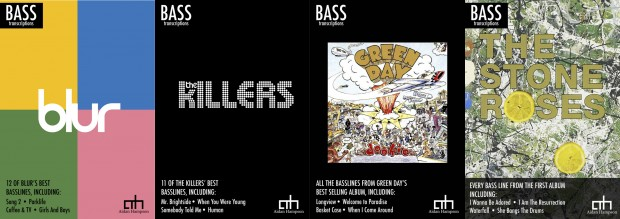 Aidan Hampson Bass Transcription Books