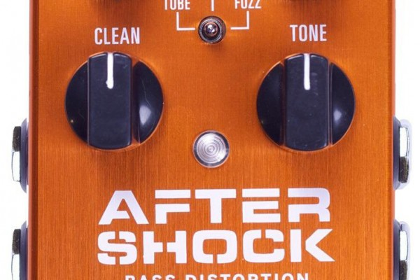 Source Audio Now Shipping Aftershock Bass Distortion