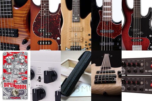 Bass Gear Roundup: The Top Gear Stories in April 2016