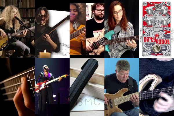 Weekly Top 10: New Bass Transcription, Talking Technique,  Advanced Bass Lesson, New Gear, Top Bass Videos and More
