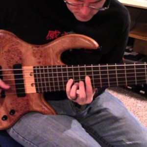 "Ben Titus: Looping Bass Arrangement of ""Radioactive"""