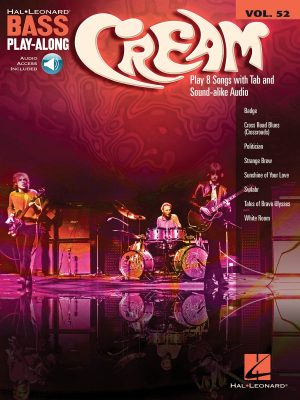Cream: Bass Play-Along Vol. 52