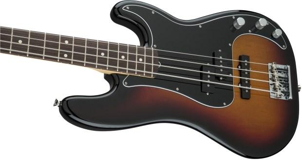 Fender 2016 Limited Edition American Standard PJ Bass Body Left