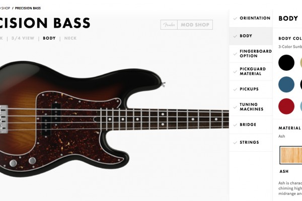 Fender Introduces The Mod Shop