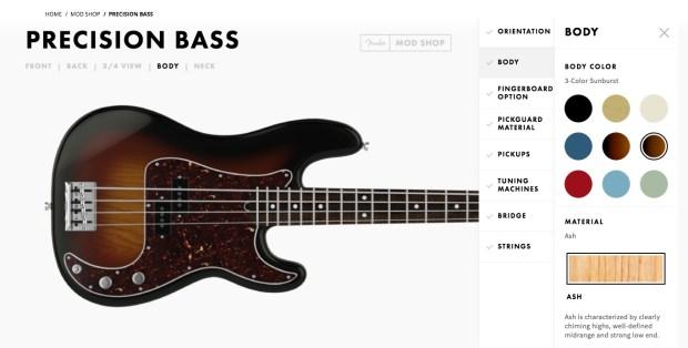 Fender Mod Shop Precision Bass