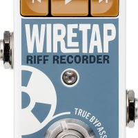 TC Electronic Unveils the WireTap Riff Recorder Pedal