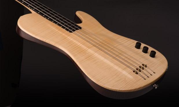 Tomisic MarkOne Bass Body Angle