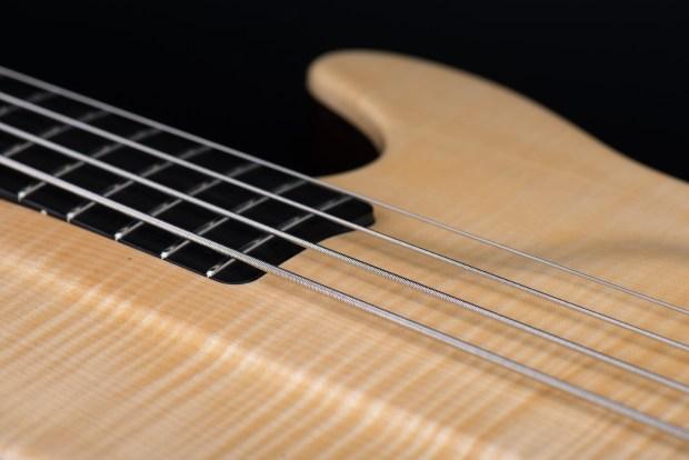 Tomisic MarkOne Bass Closeup