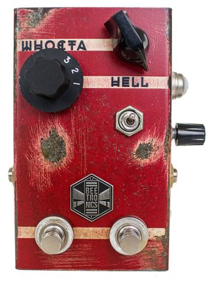 Beetronics Whoctahell Fuzz/Octave Pedal