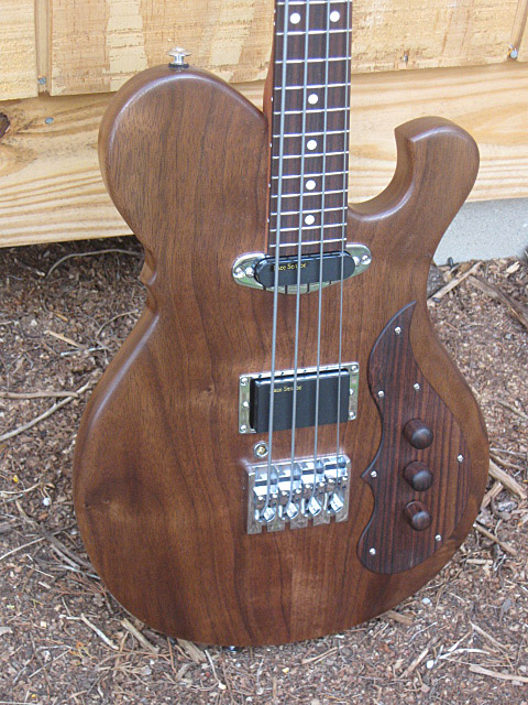 Birdsong Guitars Sparrow Bass Body