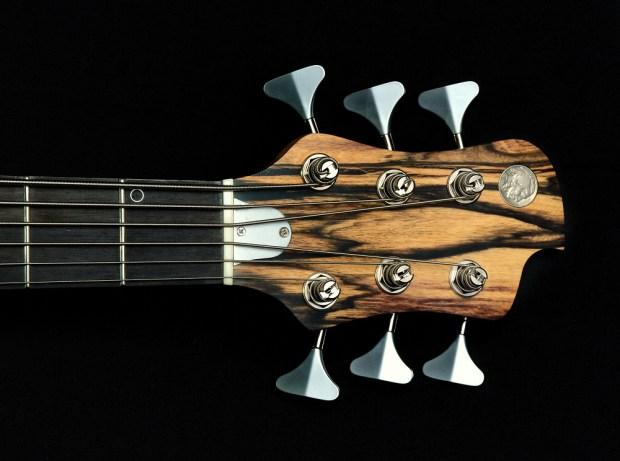 Nichols Guitar Company Seas of Cheese Bass Headstock