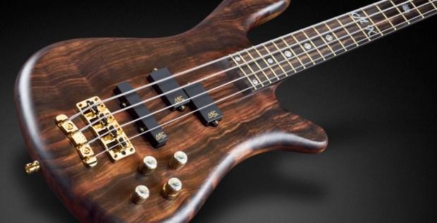 Warwick Custom Shop Masterbuilt - Streamer Stage II Macassar Ebony Bass Body
