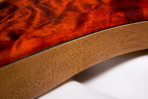 39 Custom Guitars CK Canorous Bass Side Veneers