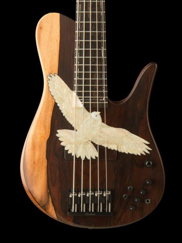 Fodera Masterbuilt Kestrel Bass Body