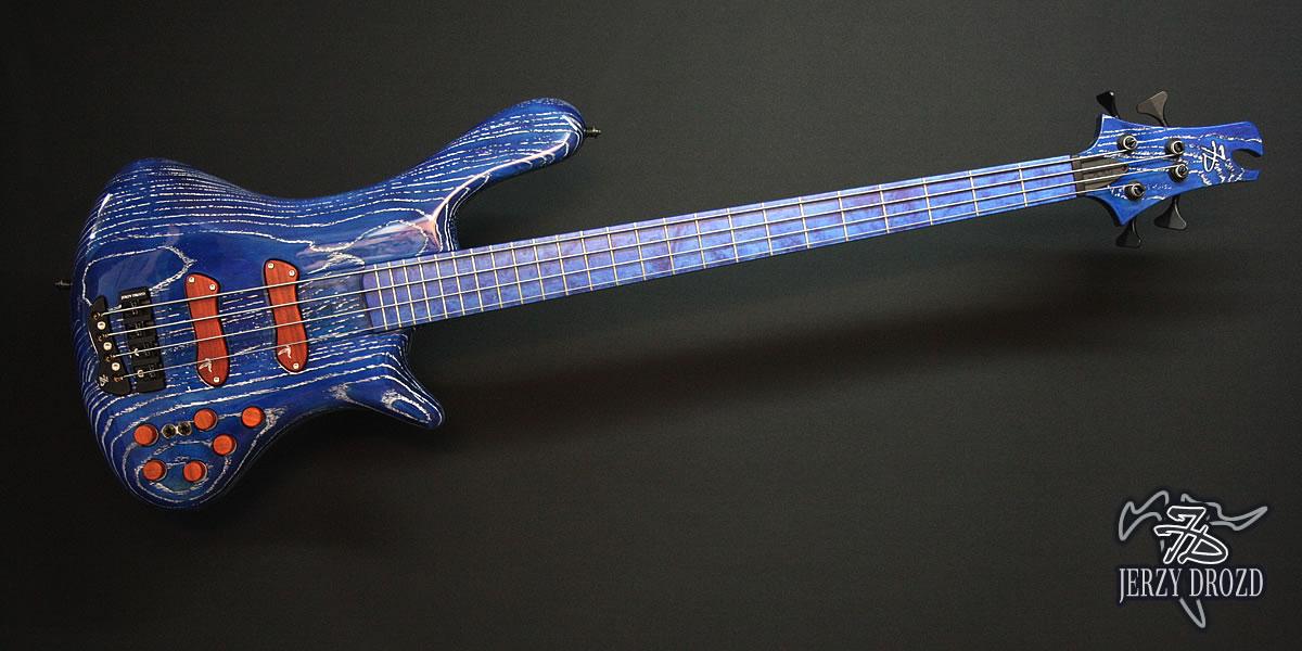 "Jerzy Drozd Soul IV ""Matisse"" Bass Cobalt Blue"