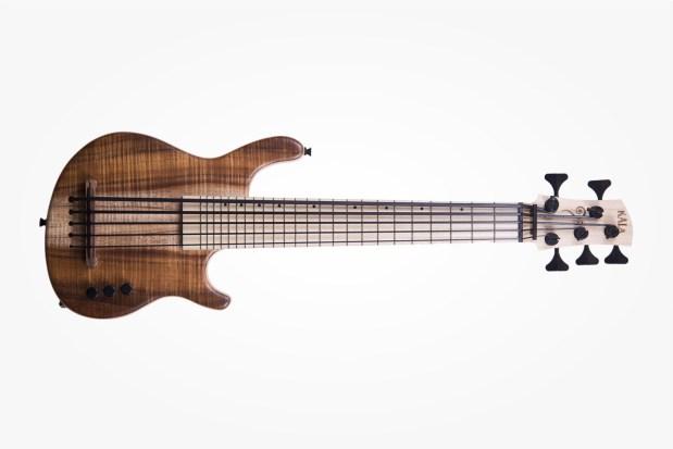 Kala California Series U-Bass Koa 5 Fretted