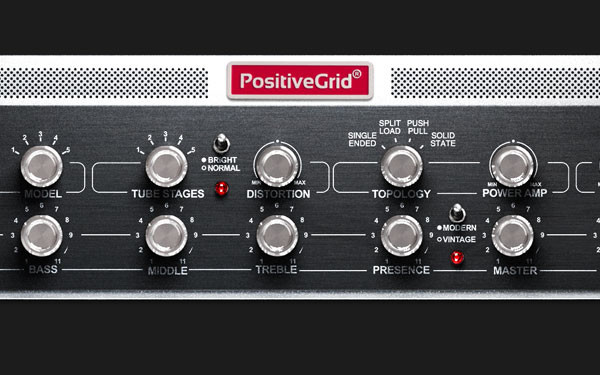 Positive Grid Announces the BIAS Rack Amp