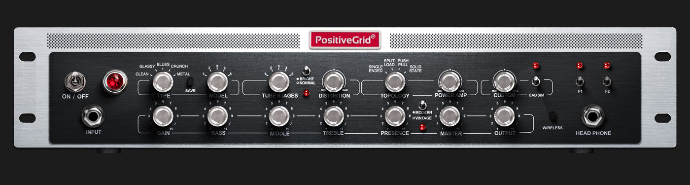 Positive Grid BIAS Rack Amp