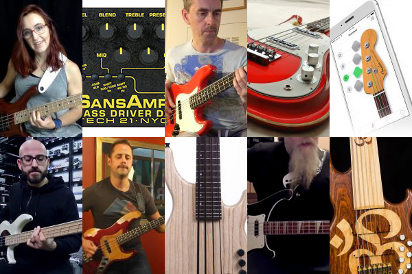 Weekly Top 10: Talking Double Stops, New Creative Bass Lines Lesson, New Bass Gear, Top Videos and More