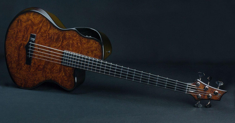 Emerald Guitars Balor Bass Woody Bub