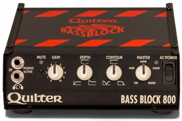 Quilter Amps Unveils the Bass Block 800